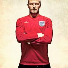 David Beckham photographed by Ranald Mackechnie