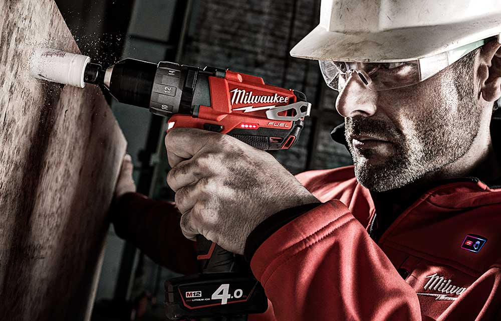 Milwaukee Powertools, Advertising Retouching by Photofixer London