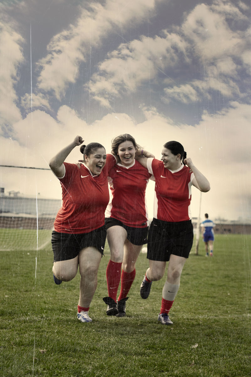 Football Retouching for Football Association Love Football Campaign